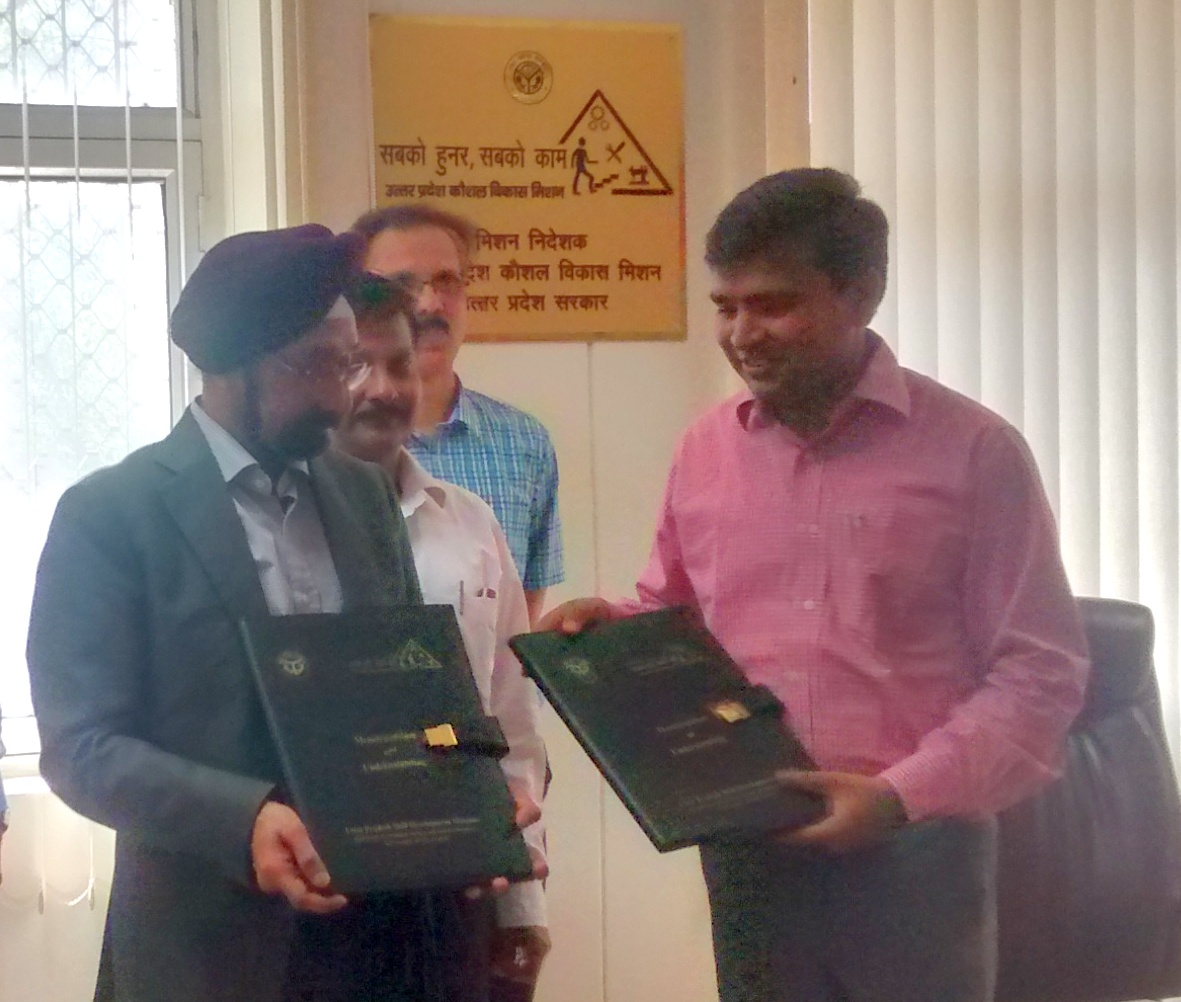 MoU Signing with UPSDM